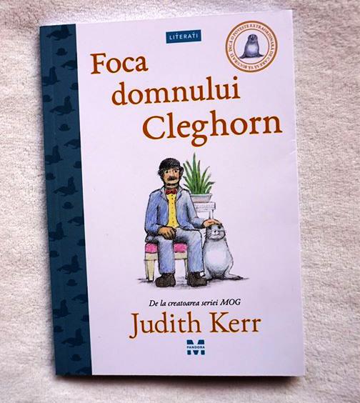 "Recomandat Antiparenting.ro: ""Foca domnului Cleghorn"" de Judith Kerr"
