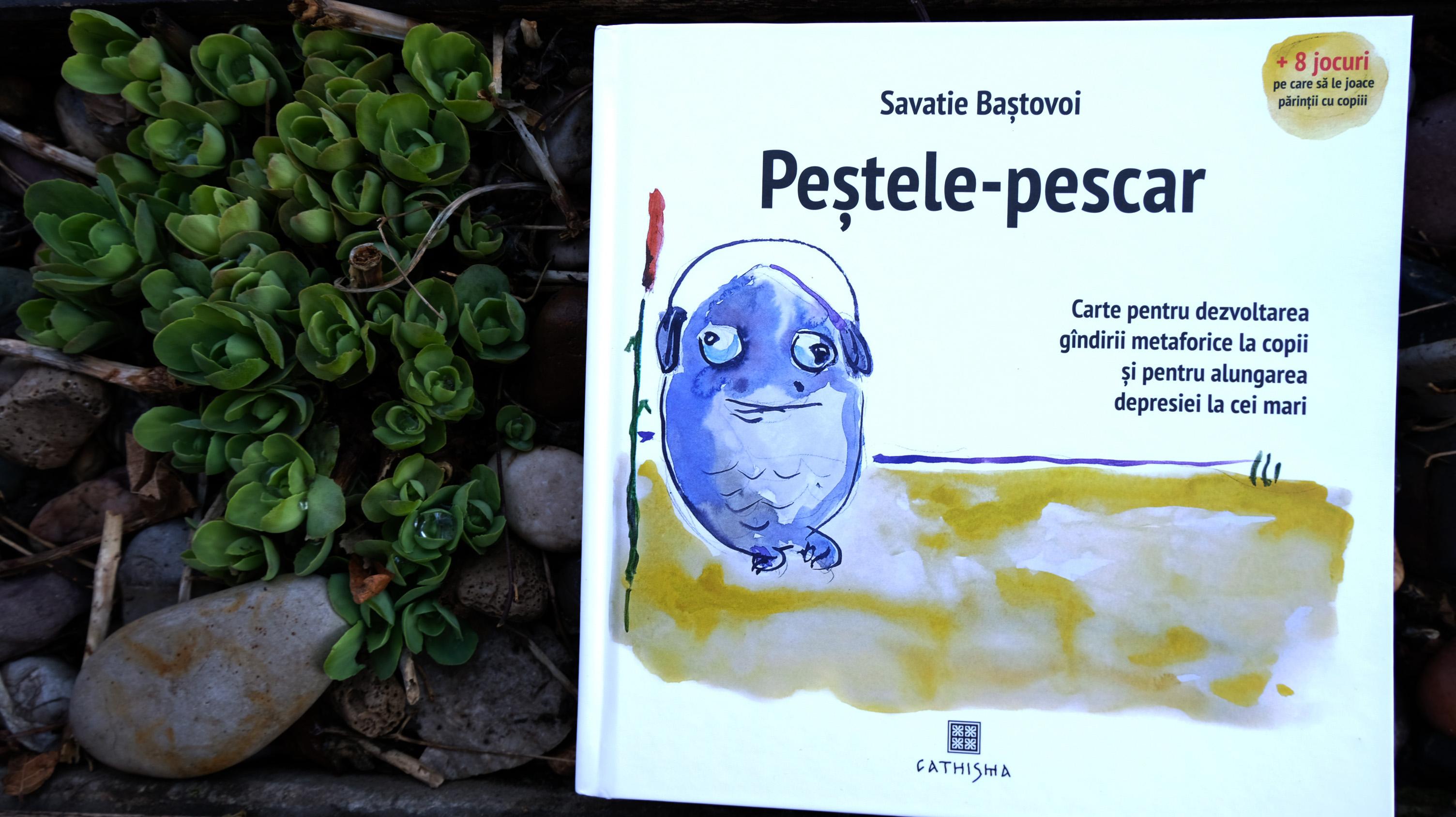 O nouă apariție editorială semnată Savatie Baștovoi, de data aceasta o carte ilustrată: Peștele-pescar