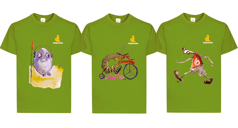 Colecția de tricouri Antiparenting: O pată de umor pe tricoul tău va crea o bună dispoziție celor cu care te întîlnești