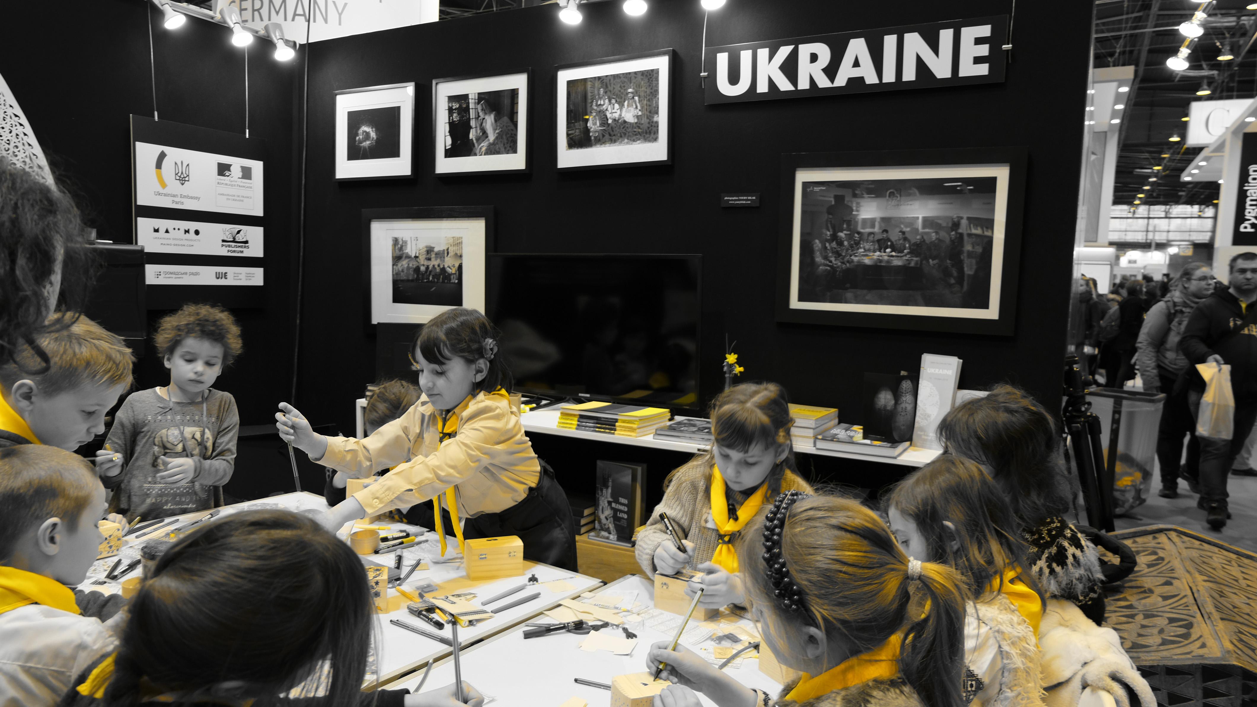 Ucraina a ales să fie reprezentată la Paris de copii